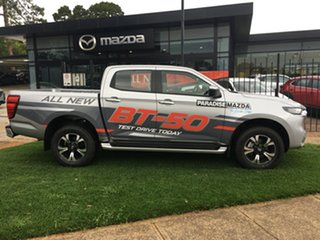 2020 Mazda BT-50 TFS40J XTR Ingot Silver 6 Speed Sports Automatic Utility.