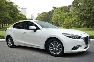 2015 Mazda 3 BM5276 Touring SKYACTIV-MT White 6 Speed Manual Sedan.