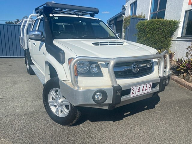 Used Holden Colorado RC MY09 LT-R Crew Cab, 2009 Holden Colorado RC MY09 LT-R Crew Cab White 5 Speed Manual Utility