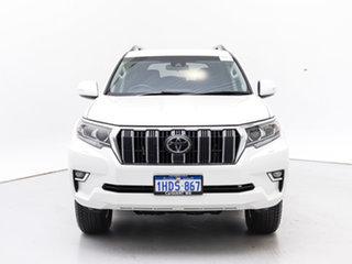 2020 Toyota Landcruiser Prado GDJ150R MY18 GXL (4x4) White 6 Speed Automatic Wagon.