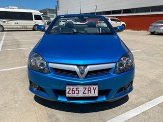 2005 Holden Tigra XC Blue 5 Speed Manual Convertible