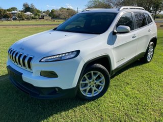 2014 Jeep Cherokee KL MY15 Longitude White 9 Speed Sports Automatic Wagon.