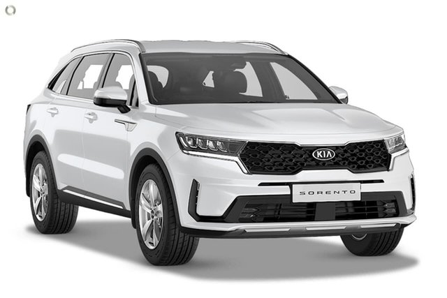 Demo Kia Sorento MQ4 MY21 S AWD Reynella, 2020 Kia Sorento MQ4 MY21 S AWD White 8 Speed Sports Automatic Dual Clutch Wagon