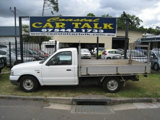 2003 Ford Courier PG GL White 5 Speed Manual Cab Chassis.