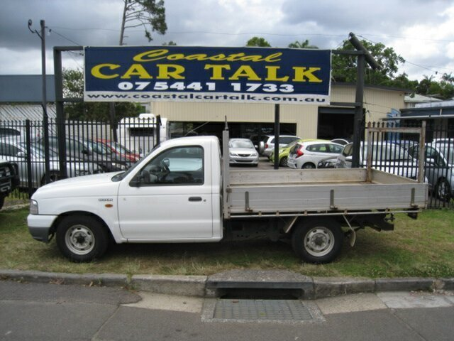 Used Ford Courier PG GL, 2003 Ford Courier PG GL White 5 Speed Manual Cab Chassis