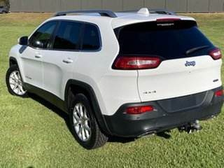 2014 Jeep Cherokee KL MY15 Longitude White 9 Speed Sports Automatic Wagon