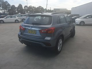 2018 Mitsubishi ASX XC MY19 ES 2WD ADAS Grey 1 Speed Constant Variable Wagon