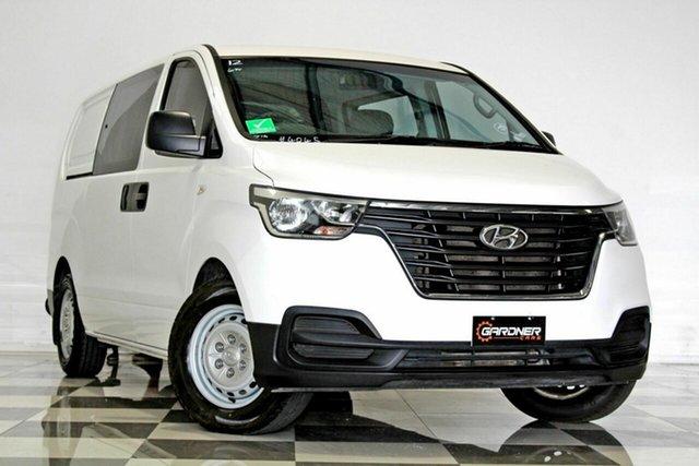 Used Hyundai iLOAD TQ4 MY19 6S Twin Swing, 2018 Hyundai iLOAD TQ4 MY19 6S Twin Swing White 5 Speed Automatic Crew Van