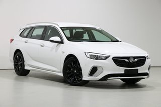 2019 Holden Commodore ZB MY19.5 RS White 9 Speed Automatic Sportswagon.