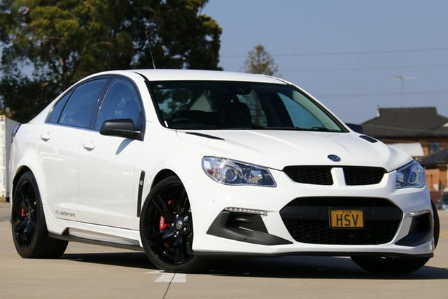 Used Holden Special Vehicles ClubSport Gen F2 R8 LSA, 2016 Holden Special Vehicles ClubSport Gen F2 R8 LSA White 6 Speed Auto Active Sequential Sedan