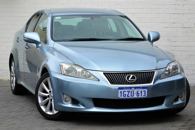 Used Lexus IS GSE20R MY11 IS250 F Sport, 2010 Lexus IS GSE20R MY11 IS250 F Sport Blue 6 Speed Sports Automatic Sedan