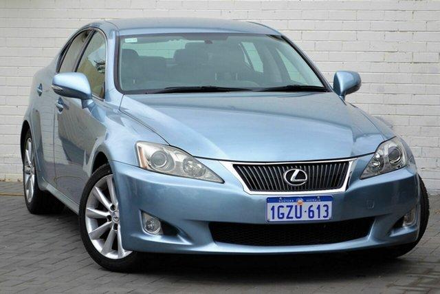 Used Lexus IS GSE20R MY11 IS250 F Sport Mount Lawley, 2010 Lexus IS GSE20R MY11 IS250 F Sport Blue 6 Speed Sports Automatic Sedan