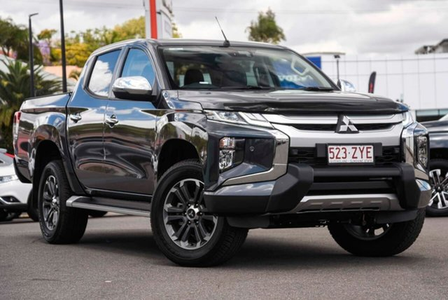 Demo Mitsubishi Triton MR MY20 GLS Double Cab, 2020 Mitsubishi Triton MR MY20 GLS Double Cab Graphite Grey 6 Speed Sports Automatic Utility