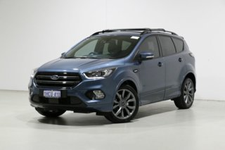 2019 Ford Escape ZG MY19.25 ST-Line (AWD) Blue 6 Speed Automatic SUV.
