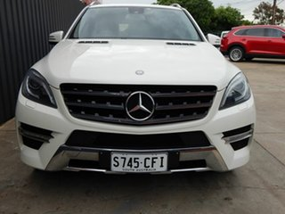 2012 Mercedes-Benz M-Class W166 ML250 BlueTEC 7G-Tronic + White 7 Speed Sports Automatic Wagon.