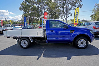 2013 Ford Ranger PX XL Aurora Blue 6 Speed Manual Cab Chassis