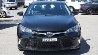 2015 Toyota Camry ASV50R Atara SL Black 6 Speed Sports Automatic Sedan.