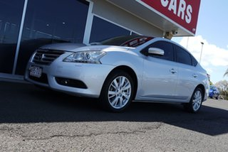 2012 Nissan Pulsar B17 TI Silver 1 Speed Constant Variable Sedan.