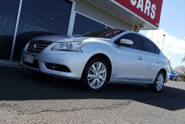 Used Nissan Pulsar B17 TI, 2012 Nissan Pulsar B17 TI Silver 1 Speed Constant Variable Sedan
