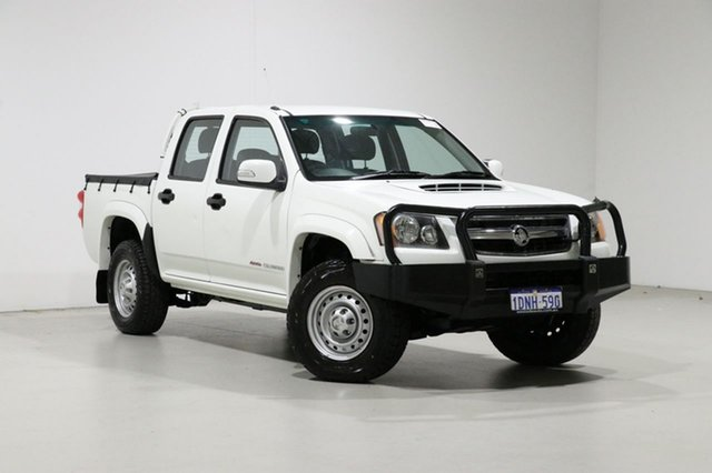 Used Holden Colorado RC MY10 LX (4x4), 2010 Holden Colorado RC MY10 LX (4x4) White 5 Speed Manual Crew Cab Pickup