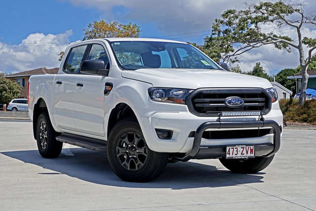 Used Ford Ranger PX MkIII 2020.25MY XL, 2020 Ford Ranger PX MkIII 2020.25MY XL Arctic White 6 Speed Sports Automatic Double Cab Pick Up