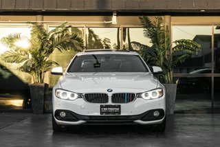 2014 BMW 4 Series F32 420d Sport Line White 8 Speed Sports Automatic Coupe.