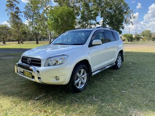 2006 Toyota RAV4 ACA33R Cruiser L Crystal Pearl 4 Speed Automatic Wagon.