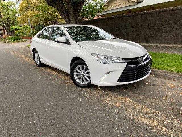 Used Toyota Camry ASV50R Altise, 2017 Toyota Camry ASV50R Altise White 6 Speed Sports Automatic Sedan