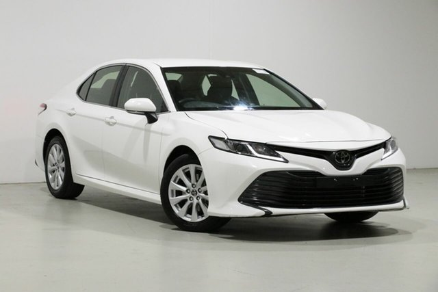 Used Toyota Camry ASV70R MY19 Ascent, 2019 Toyota Camry ASV70R MY19 Ascent White 6 Speed Automatic Sedan
