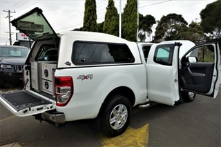 2014 Ford Ranger PX XLT Super Cab White 6 Speed Sports Automatic Utility