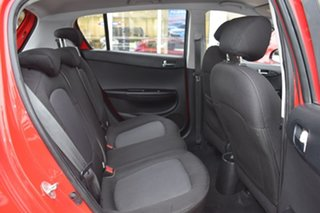 2014 Hyundai i20 PB MY14 Active Red 4 Speed Automatic Hatchback