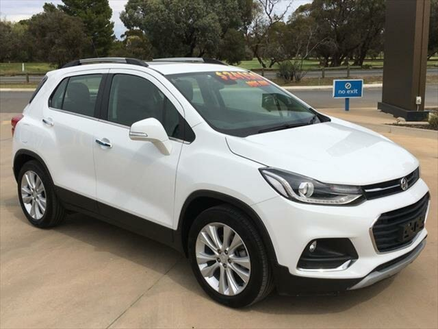 Used Holden Trax TJ MY19 LTZ Berri, 2019 Holden Trax TJ MY19 LTZ Summit White 6 Speed Automatic Wagon