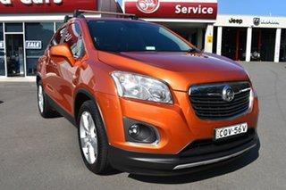 2013 Holden Trax TJ MY14 LTZ Orange 6 Speed Automatic Wagon.