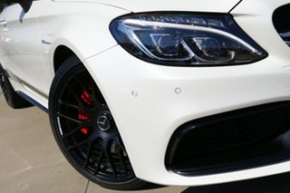 2016 Mercedes-AMG C63 S C White 7 Speed Automatic Coupe.