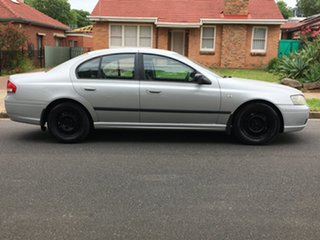 2005 Ford Falcon BA Mk II Futura Grey 4 Speed Sports Automatic Sedan.