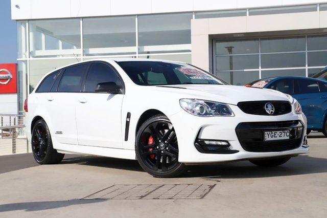 Used Holden Commodore VF II MY17 SS V Sportwagon Redline, 2017 Holden Commodore VF II MY17 SS V Sportwagon Redline White 6 Speed Sports Automatic Wagon