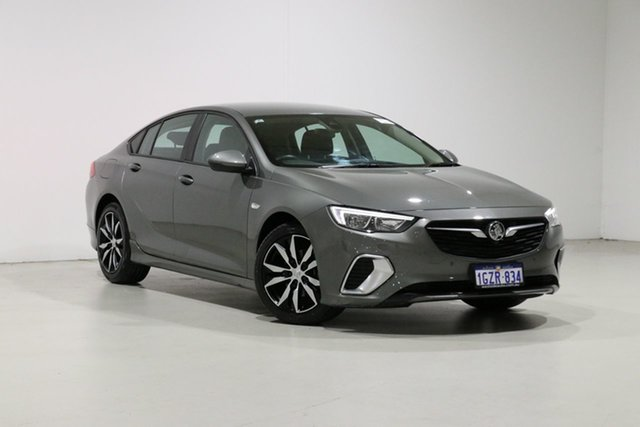 Used Holden Commodore ZB RS, 2018 Holden Commodore ZB RS Grey 9 Speed Automatic Liftback