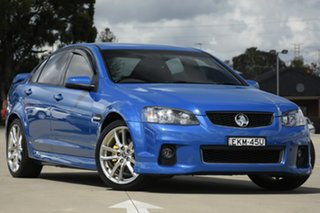 2011 Holden Commodore VE II SV6 Blue 6 Speed Manual Sedan.
