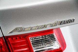 2010 Honda Accord 10 Euro Luxury Silver 5 Speed Automatic Sedan