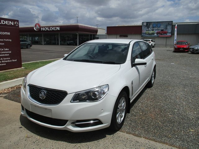 Used Holden Commodore VF MY15 Evoke Sportwagon North Rockhampton, 2015 Holden Commodore VF MY15 Evoke Sportwagon White 6 Speed Sports Automatic Wagon