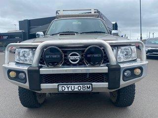 2013 Nissan Patrol Y61 GU 8 ST Gold 4 Speed Automatic Wagon.