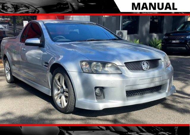 Used Holden Ute VE SS Ashmore, 2008 Holden Ute VE SS Metallic Silver 6 Speed Manual Utility