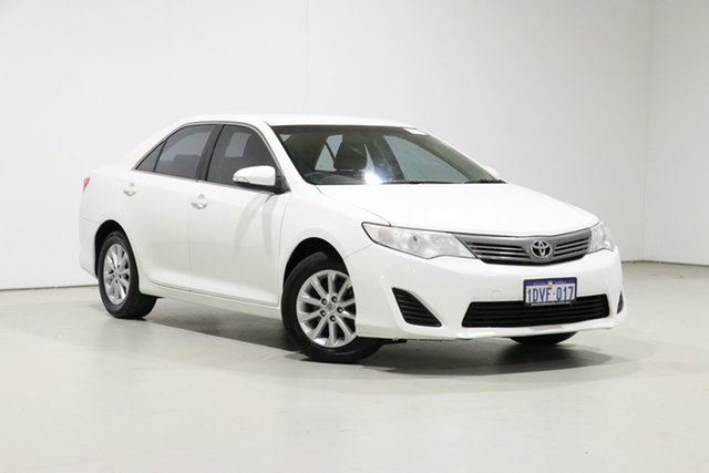 Used Toyota Camry ACV40R 09 Upgrade Altise, 2012 Toyota Camry ACV40R 09 Upgrade Altise White 5 Speed Automatic Sedan