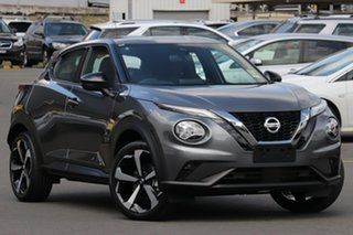 2021 Nissan Juke F16 ST-L DCT 2WD Gun Metallic 7 Speed Sports Automatic Dual Clutch Hatchback.