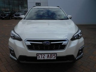 2020 Subaru XV MY20 Hybrid Crystal White Continuous Variable Wagon.