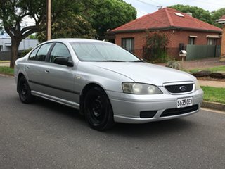 2005 Ford Falcon BA Mk II Futura Grey 4 Speed Sports Automatic Sedan