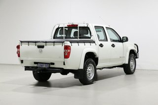 2010 Holden Colorado RC MY10 LX (4x4) White 5 Speed Manual Crew Cab Pickup