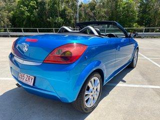 2005 Holden Tigra XC Blue 5 Speed Manual Convertible.