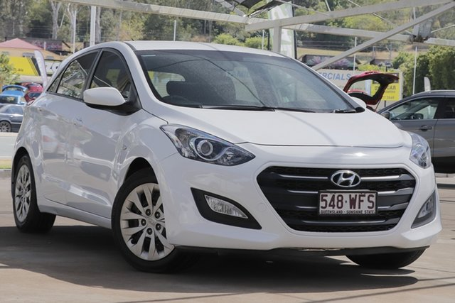 Used Hyundai i30 GD4 Series II MY16 Active DCT, 2015 Hyundai i30 GD4 Series II MY16 Active DCT White 7 Speed Sports Automatic Dual Clutch Hatchback