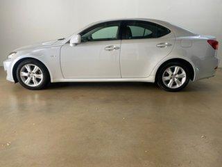 2008 Lexus IS250 GSE20R Prestige White 6 Speed Auto Sequential Sedan